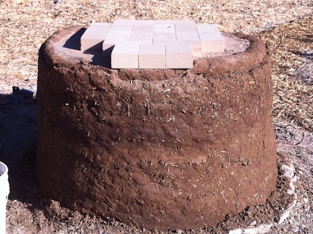 cob oven base firebricks