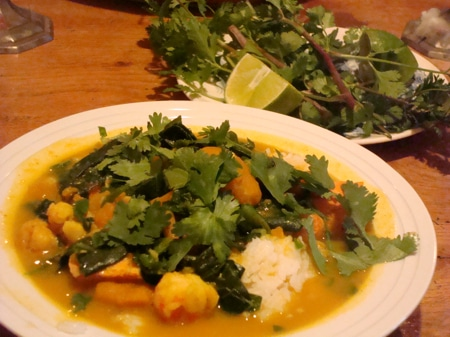 Thai Seafood Curry with Winter Squash